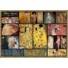 GRAFIKA, Grafika-00838, 3663384008382, PUZZLE ARTE GRAFIKA COLLAGE GUSTAV KLIMT PITTURA 1900 1000 PZ