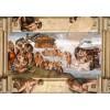 GRAFIKA, Grafika-01116, 3663384011160, PUZZLE ARTE GRAFIKA MICHELANGELO LA CAPPELLA SISTINA RINASCIMENTO 1000 PZ