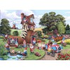 THE HOUSE OF PUZZLES, The-House-of-Puzzles-4746, 5060002004746, PUZZLE TEMATICO THE HOUSE OF PUZZLES GNOMI PEZZI XXL GNOME E AWAY 500 PZ