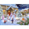 THE HOUSE OF PUZZLES, The-House-of-Puzzles-4258, 5060002004258, PUZZLE TEMATICO THE HOUSE OF PUZZLES NATALE SNOW FAMILY 1000 PZ
