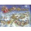 THE HOUSE OF PUZZLES, The-House-of-Puzzles-4494, 5060002004494, PUZZLE TEMATICO THE HOUSE OF PUZZLES NATALE CHRISTMAS EVE 500 PZ