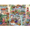 THE HOUSE OF PUZZLES, The-House-of-Puzzles-4678, 5060002004678, PUZZLE TEMATICO THE HOUSE OF PUZZLES FIORI GOING POTTY 1000 PZ