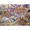 GIBSONS, G787, 5012269007879, PUZZLE TEMATICO GIBSONS CITTA I LOVE THE WEEKEND 1000 PZ