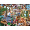 GIBSONS, G6266, 5012269062663, PUZZLE TEMATICO GIBSONS MESTIERI A WORK OF ART 1000 PZ