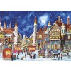 GIBSONS, G5053, 5012269050530, PUZZLE TEMATICO GIBSONS NATALE YULETIDE DELIVERIES 2X500 PZ