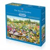 GIBSONS, G6183, 5012269061833, PUZZLE ANIMALI GIBSONS UCCELLI THE SECRET GARDEN 1000 PZ