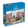GIBSONS, G6256, 5012269062564, PUZZLE TEMATICO GIBSONS CITTA PICCADILLY LONDRA 1000 PZ