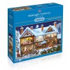 GIBSONS, G6155, 5012269061550, PUZZLE TEMATICO GIBSONS NATALE MIDNIGHT DELIVERY 1000 PZ