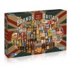 GIBSONS, G7073, 5012269070736, PUZZLE OGGETTI GIBSONS VINTAGE THE BRANDS THAT BUILT BRITAIN 1000 PZ