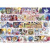 GIBSONS, G7104, 5012269071047, PUZZLE TEMATICO GIBSONS NATALE CHRISTMAS ALPHABET 1000 PZ