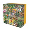 GIBSONS, G3421, 5012269034219, PUZZLE TEMATICO GIBSONS GIARDINI I LOVE GARDENING 500 PZ