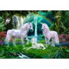 BLUEBIRD, BLUEBIRD-PUZZLE-70193, 3663384701931, PUZZLE GRAFICA BLUEBIRD FANTASY RAINBOW UNICORN FAMILY 1000 PZ
