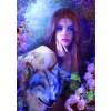 BLUEBIRD, BLUEBIRD-PUZZLE-70172, 3663384701726, PUZZLE GRAFICA BLUEBIRD FANTASY MIDNIGHT ROSE 1000 PZ