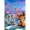 BLUEBIRD, BLUEBIRD-PUZZLE-70134, 3663384701344, PUZZLE GRAFICA BLUEBIRD FANTASY DREAM CATCHER 1000 PZ