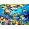BLUEBIRD, BLUEBIRD-PUZZLE-70292, 3663384702921, PUZZLE PAESAGGI BLUEBIRD FONDALI MARINI TURTLE BEACH 1000 PZ
