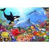 BLUEBIRD, BLUEBIRD-PUZZLE-70028, 3663384700286, PUZZLE PAESAGGI BLUEBIRD FONDALI MARINI BRIGHT UNDERSEA WORLD 1500 PZ