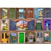BLUEBIRD, BLUEBIRD-PUZZLE-70116, 3663384701160, PUZZLE OGGETTI BLUEBIRD PORTE DOORS OF USA 2000 PZ