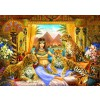 BLUEBIRD, BLUEBIRD-PUZZLE-70198, 3663384701986, PUZZLE ANIMALI BLUEBIRD LEOPARDI EGYPTIAN QUEEN OF THE LEOPARDS 2000 PZ