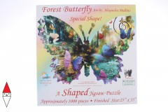 , , , PUZZLE SAGOMATO SUNSOUT FARFALLE FOREST BUTTERFLY 1000 PZ