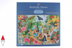 , , , PUZZLE ANIMALI GIBSONS FARFALLE BUTTERFLY HOUSE 1000 PZ