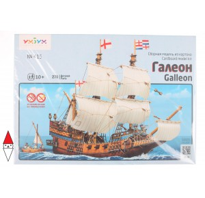 , , , PUZZLE 3D UMBUM NAVI ANTICHE GALLEON GALEONE 415
