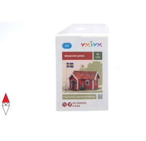 , , , PUZZLE 3D UMBUM COTTAGE SVEDESE 325