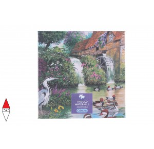 , , , PUZZLE EDIFICI GIBSONS MULINI THE OLD WATERMILL 500 PZ