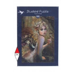 , , , PUZZLE GRAFICA BLUEBIRD FANTASY TOUCH OF GOLD 1000 PZ