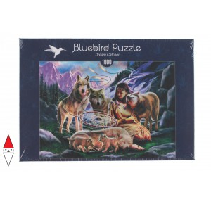 , , , PUZZLE GRAFICA BLUEBIRD FANTASY DREAM CATCHER 1000 PZ