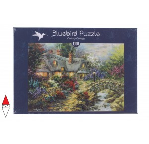 , , , PUZZLE EDIFICI BLUEBIRD COTTAGES E CHALETS COUNTRY COTTAGE 1000 PZ