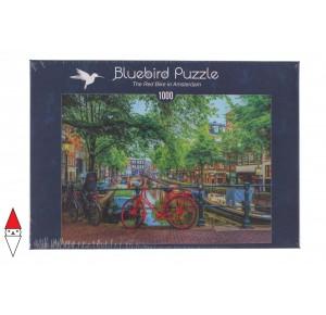 BLUEBIRD, , , PUZZLE PAESAGGI BLUEBIRD CITTA THE RED BIKE IN AMSTERDAM 1000 PZ