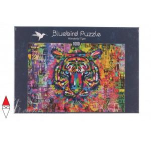 BLUEBIRD, , , PUZZLE ANIMALI BLUEBIRD TIGRI WONDERFUL TIGER 1000 PZ