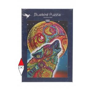 , , , PUZZLE ANIMALI BLUEBIRD LUPI HOWLING WOLF 1000 PZ