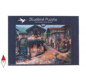 , , , PUZZLE PAESAGGI BLUEBIRD VILLAGGI THE FOUNTAIN ON THE SQUARE 1000 PZ