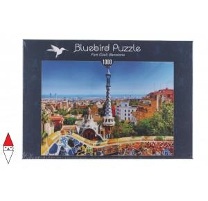 BLUEBIRD, , , PUZZLE PAESAGGI BLUEBIRD CITTA PARK GUELL, BARCELLONAEUR 1000 PZ