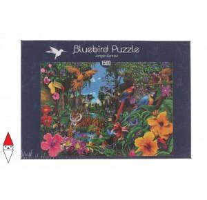 , , , PUZZLE PAESAGGI BLUEBIRD FORESTA JUNGLE SUNRISE 1500 PZ