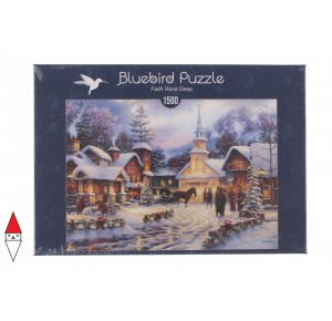 , , , PUZZLE TEMATICO BLUEBIRD NATALE FAITH RUNS DEEP 1500 PZ
