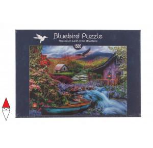 , , , PUZZLE PAESAGGI BLUEBIRD FIUMI E CASCATE 1500 PZ