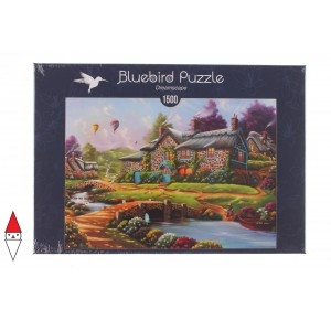, , , PUZZLE EDIFICI BLUEBIRD COTTAGES E CHALETS DREAMSCAPE 1500 PZ