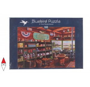 , , , PUZZLE TEMATICO BLUEBIRD NEGOZI A TIME REMEMBERED 1500 PZ
