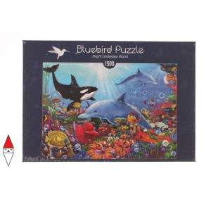 , , , PUZZLE PAESAGGI BLUEBIRD FONDALI MARINI BRIGHT UNDERSEA WORLD 1500 PZ