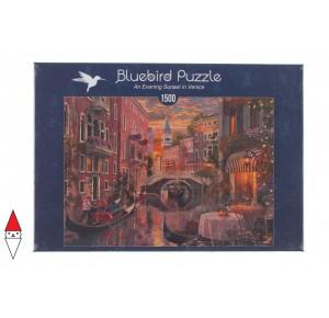 , , , PUZZLE PAESAGGI BLUEBIRD CITTA AN EVENING SUNSET IN VENICE VENEZIA 1500 PZ