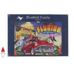 , , , PUZZLE OGGETTI BLUEBIRD VINTAGE ROAD TRIP 1500 PZ