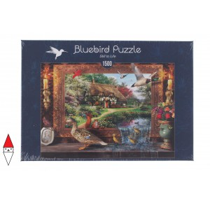, , , PUZZLE EDIFICI BLUEBIRD COTTAGES E CHALETS STILL TO LIFE 1500 PZ