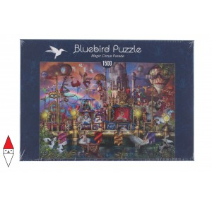 , , , PUZZLE TEMATICO BLUEBIRD CIRCO MAGIC CIRCUS PARADE 1500 PZ