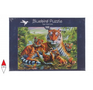 , , , PUZZLE ANIMALI BLUEBIRD TIGRI TIGER AND CUBS 1500 PZ
