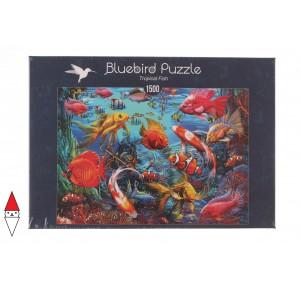 , , , PUZZLE PAESAGGI BLUEBIRD FONDALI MARINI TROPICAL FISH 1500 PZ