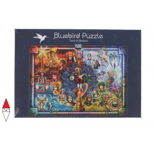 , , , PUZZLE GRAFICA BLUEBIRD FANTASY TAROT OF DREAMS 1500 PZ