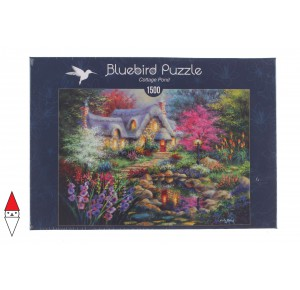 , , , PUZZLE EDIFICI BLUEBIRD COTTAGES E CHALETS COTTAGE POND 1500 PZ