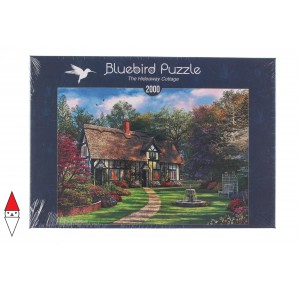 , , , PUZZLE EDIFICI BLUEBIRD COTTAGES E CHALETS THE HIDEAWAY COTTAGE 2000 PZ